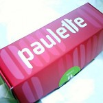 Paulette's signature box for six macarons