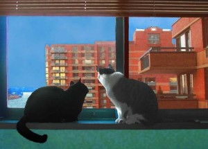 City Cats by Deborah Julian on Esty